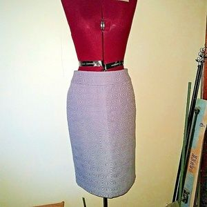 Cynthia Rowley Size 4 Skirt Straight Pencil Lined
